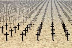 Onori ai soldati morti Immagine Stock