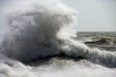 onormal wave Arkivfoto