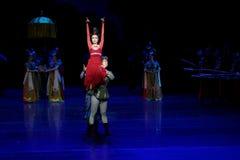 Onrechtvaardigheid-vier handeling ` belemmerde inklaring ` - Epische de Zijdeprinses ` van het dansdrama ` stock afbeeldingen