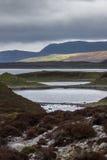 Onregelmatig gevormde Loch Eriboll in Noordelijk Schotland Royalty-vrije Stock Afbeelding