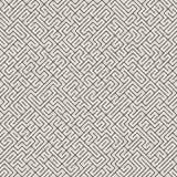 Onregelmatig Maze Line Abstract geometrisch Ontwerp als achtergrond Vector naadloos zwart-wit patroon Royalty-vrije Stock Fotografie
