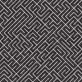 Onregelmatig Maze Lines Abstract geometrisch Ontwerp als achtergrond Royalty-vrije Stock Foto's