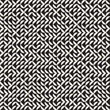 Onregelmatig Maze Lines Abstract geometrisch Ontwerp als achtergrond Royalty-vrije Stock Fotografie