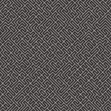 Onregelmatig Maze Lines Abstract geometrisch Ontwerp als achtergrond Vector Naadloos Zwart-wit Chaotisch Patroon Royalty-vrije Stock Foto