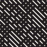 Onregelmatig Maze Shapes Tiling Contemporary Graphic-Ontwerp Vector naadloos patroon stock illustratie