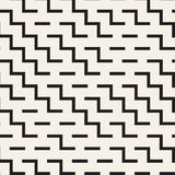 Onregelmatig Maze Shapes Tiling Contemporary Graphic-Ontwerp Vector naadloos patroon vector illustratie