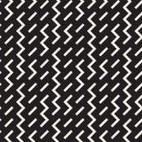 Onregelmatig Maze Shapes Tiling Contemporary Graphic-Ontwerp Vector naadloos patroon Stock Fotografie