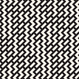 Onregelmatig Maze Shapes Tiling Contemporary Graphic-Ontwerp Vector naadloos zwart-wit patroon Royalty-vrije Stock Foto