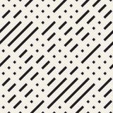 Onregelmatig Maze Shapes Tiling Contemporary Graphic-Ontwerp Vector naadloos zwart-wit patroon Stock Afbeelding