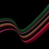 Onregelmatige gekleurde strepen Stock Foto's