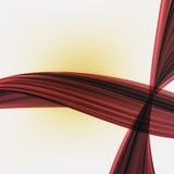 Onregelmatige gekleurde strepen Stock Fotografie