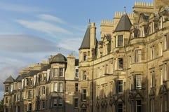 Onroerende goederen Edinburgh royalty-vrije stock fotografie