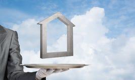 Onroerende goederen huur en het kopen concepten Stock Afbeeldingen