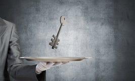 Onroerende goederen huur en het kopen concepten Stock Fotografie