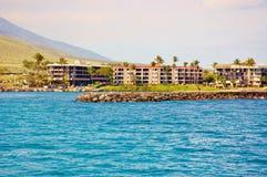 Onroerende goederen van het eiland van Maui Stock Fotografie