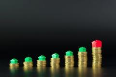Onroerende goedereninvestering stock foto