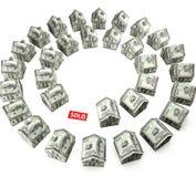 Onroerende goederenmarkt Stock Afbeelding