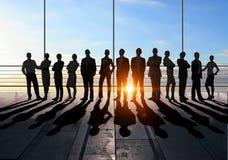 Ons commercieel team stock afbeelding