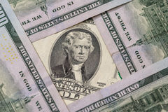 2 ons dollar Stock Foto