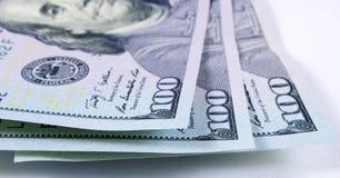 Ons dollars macroclose-up Stock Foto