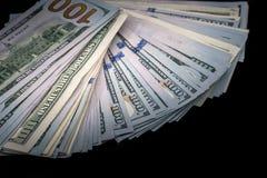 Ons geïsoleerde dollar Royalty-vrije Stock Fotografie