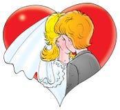 Ons huwelijk 024 Stock Fotografie