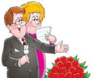 Ons huwelijk 027 vector illustratie