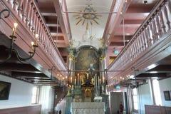 Ons `-Lieve Heer op lödmetall eller den hemliga kyrkan i Amsterdam Fotografering för Bildbyråer
