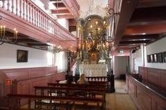 Ons `-Lieve Heer op lödmetall eller den hemliga kyrkan i Amsterdam Royaltyfria Bilder