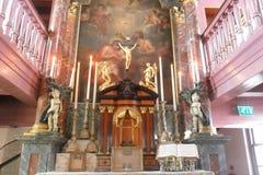Ons ` Lieve Heer op lut lub potajemnie kościół w Amsterdam obrazy stock