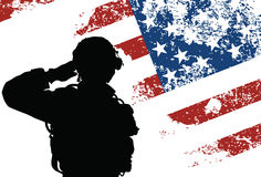 Ons militair stock illustratie