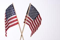 Ons vlaggen royalty-vrije stock afbeelding