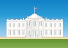 Ons wit huis royalty-vrije illustratie