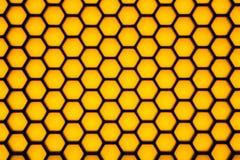 Onscherp hexagonaal meetkundepatroon Stock Foto