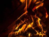 Onscherpe brand Stock Foto