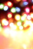 Onscherpe kleurrijke lichten Royalty-vrije Stock Foto