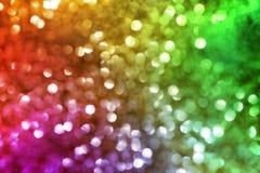 Onscherpe Lichten Royalty-vrije Stock Foto's