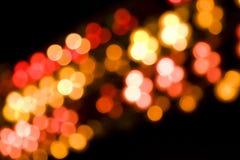 Onscherpe lichten Stock Afbeelding