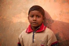 Onschuldig gelukkig Indisch slecht kind Stock Afbeelding