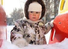 Onschuldig gezicht van de kleine jongen royalty-vrije stock afbeeldingen