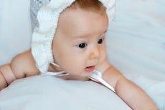 Onschuldige baby Royalty-vrije Stock Afbeelding
