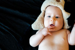 Onschuldige baby Stock Afbeeldingen