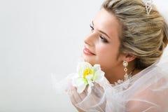 Onschuldige bruid Royalty-vrije Stock Fotografie
