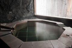 浴onsen 免版税库存照片