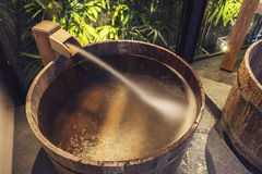 Onsen series Royalty Free Stock Photography