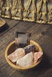 Onsen series : onsen equipment Stock Photography