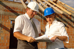 Onsite consultation Stock Photos