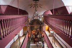 Onss kyrka för Lieve Heer op lödmetall Arkivbilder