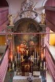 Onss kyrka för Lieve Heer op lödmetall Royaltyfri Fotografi