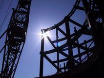 Onstruction, construção Foto de Stock Royalty Free